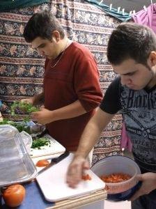Cuisine collective et bouffe communautaire - printemps 2015